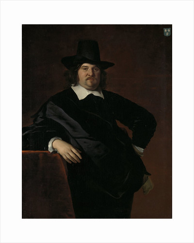 Abraham de Visscher, 1605-67, Amsterdam merchant and director of the Dutch West India Company by Abraham van den Tempel