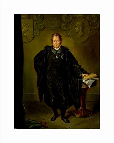 Portrait of Johan Melchior Kemper, Lawyer and Statesman by David Pièrre Giottino Humbert de Superville