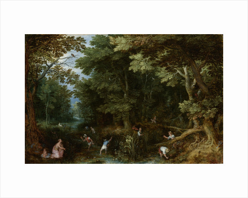 Latona and the Lycian Peasants by Jan Brueghel I