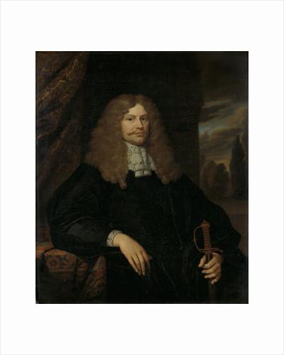 Portrait of Cornelis Backer, 1633-81, councillor, alderman, and colonel of the Amsterdam militia by Caspar Netscher