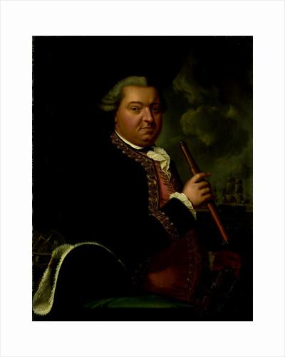 Portrait of Rear-Admiral Willem Crul by Cornelis van Cuylenburgh II
