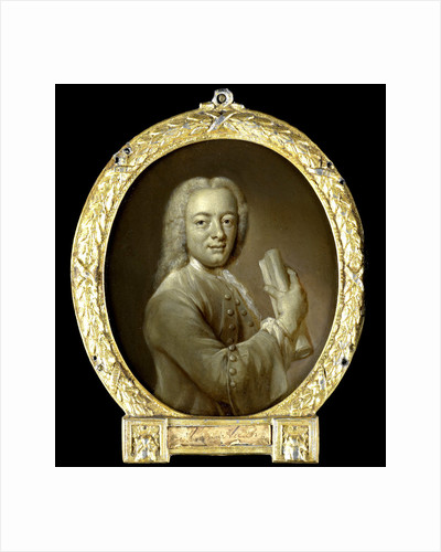 Portrait of Bernardus de Bosch I, Poet and Art Patron in Amsterdam by Jan Maurits Quinkhard