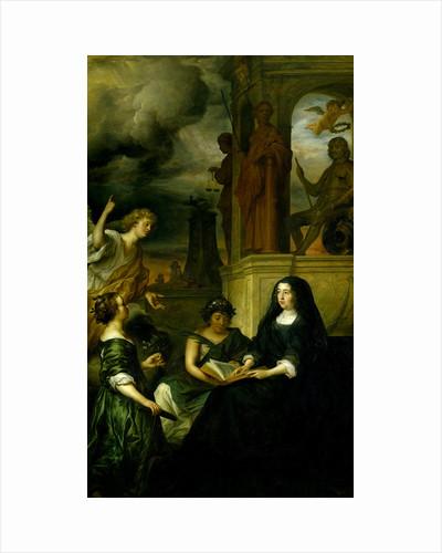 Amalia van Solms in Mourning for her Husband, Prince Frederick Henry by Govert Flinck