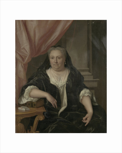 Portrait of Maria van Citters, Wife of Caspar Adriaen Parduyn by Philip van Dijk