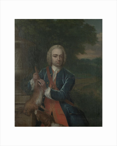 Portrait of Adriaen Caspar Parduyn, Councilor and Alderman of Middelburg, Son of Caspar Adriaen Parduyn and Maria van Citters by Philip van Dijk