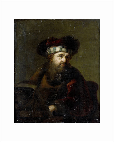 A Man in Oriental Costume, Portrait of a Rabbi by Anonymous