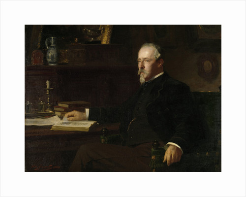 Daniël Franken Dzn, 1838-98, Banker and art collector by Willy Martens
