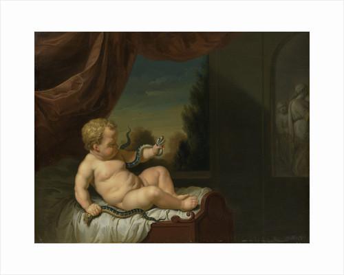 The Infant Hercules with a Serpent by Pieter van der Werff