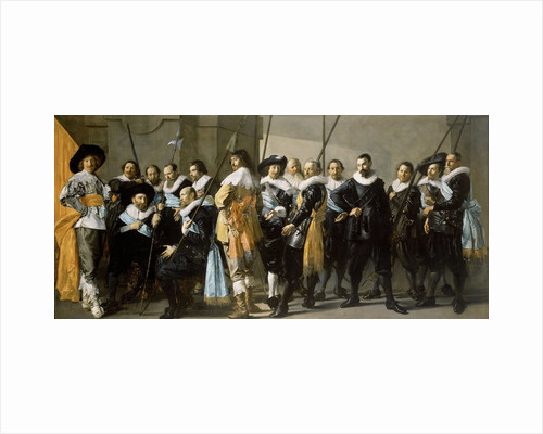Militia Company of District XI under the Command of Captain Reynier Reael, Known as 'The Meagre Company', Frans Hals by Pieter Codde