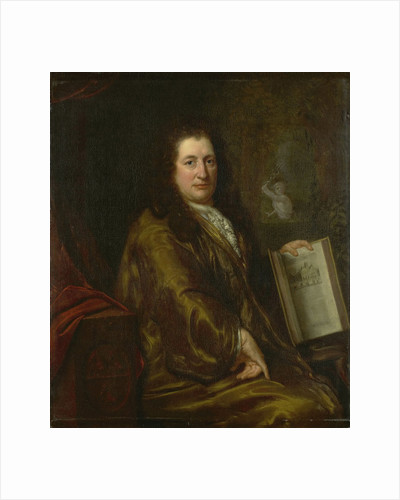 Portrait of Caspar Commelin by David van der Plas