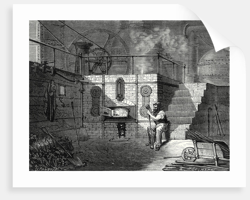 Hearth Boilers and Water Level of the Furnace of a Steam Engine by Anonymous