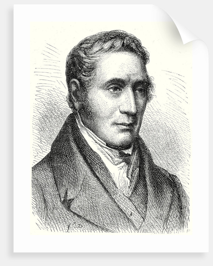 George Stephenson by Anonymous
