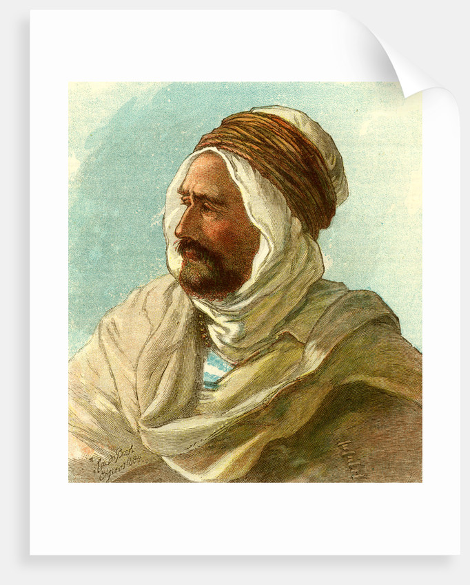 Ben Aisa the Kabyle Algiers 1885 by Anonymous