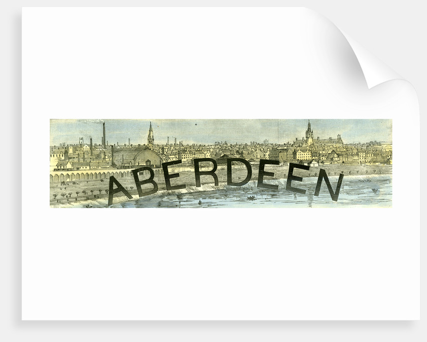 Aberdeen 1885 UK by Anonymous