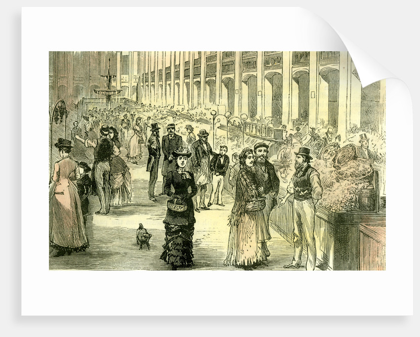 Aberdeen the New Market 1885 UK by Anonymous