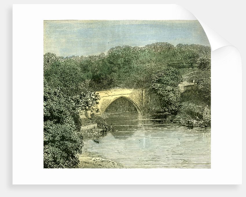 Aberdeen 1885 UK Brig O' Balgownie Across the Don by Anonymous