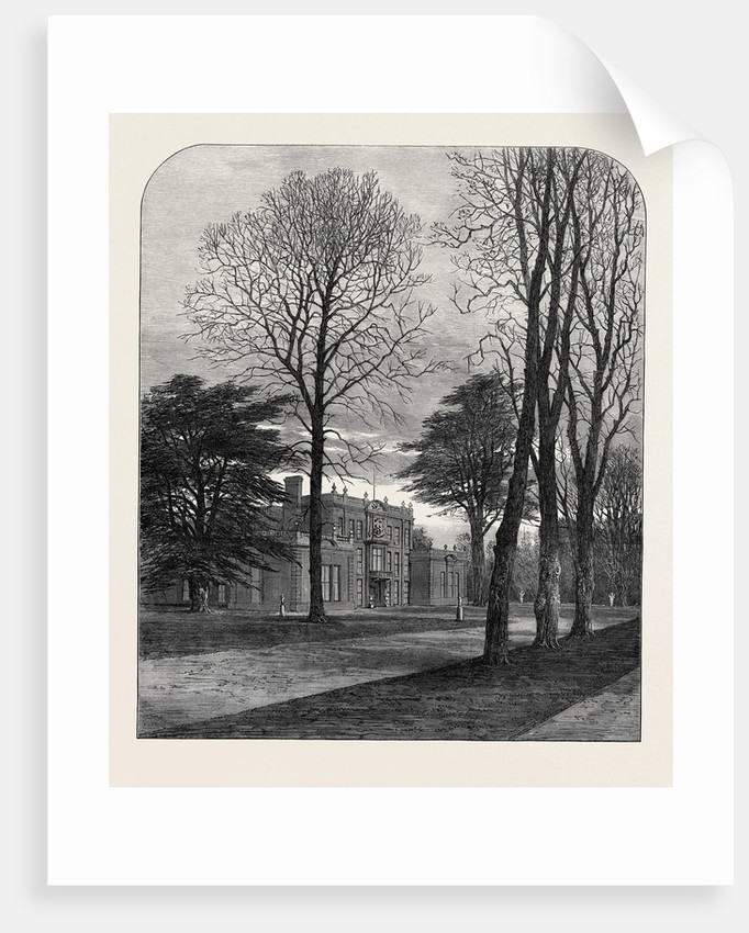 The Late Emperor Napoleon III: Camden Place Chiselhurst January 9 1873 by Anonymous