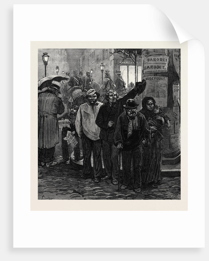 Paris Election: Nous Avons Barodet! 1873 by Anonymous