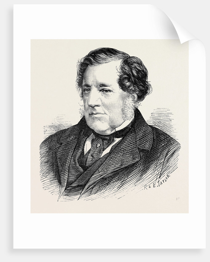 The Late Sir W. Tite C.B. 1873 by Anonymous