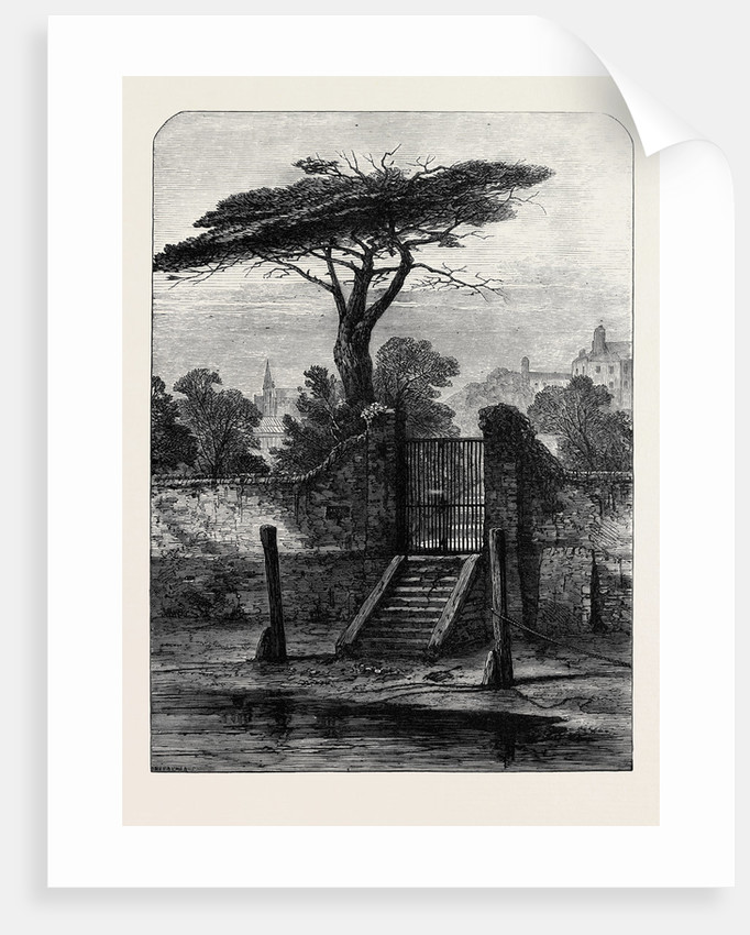 River Gate Botanic Garden Chelsea 1873 by Anonymous
