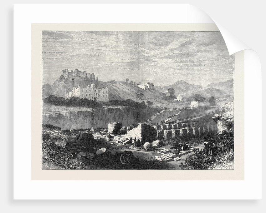 Excavations at Ephesus on the Site of the Temple of Diana 1873 by Anonymous