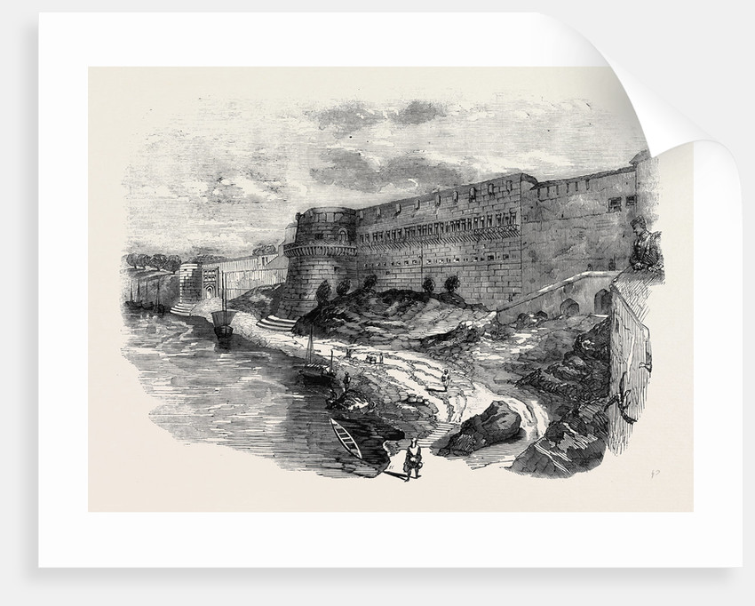 The Fort of Allahabad from the River Jumna by Anonymous