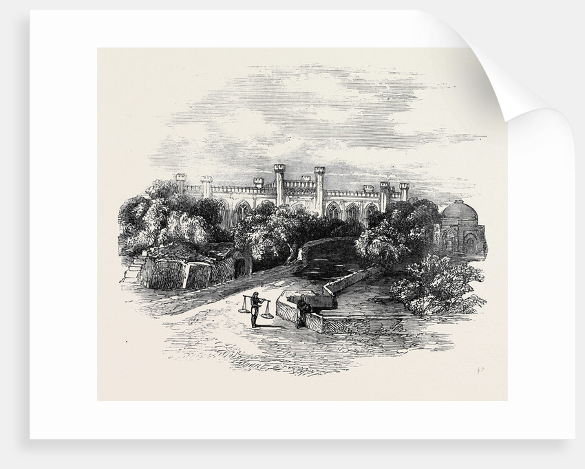 The British College at Agra. by Anonymous