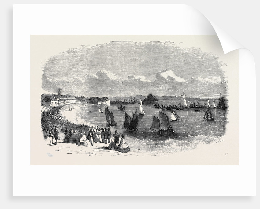 Penzance and Mount's Bay Burning the Late Regatta by Anonymous