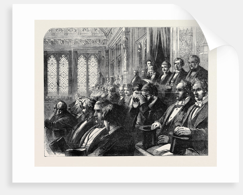 The Strangers' Gallery in the House of Commons by Anonymous
