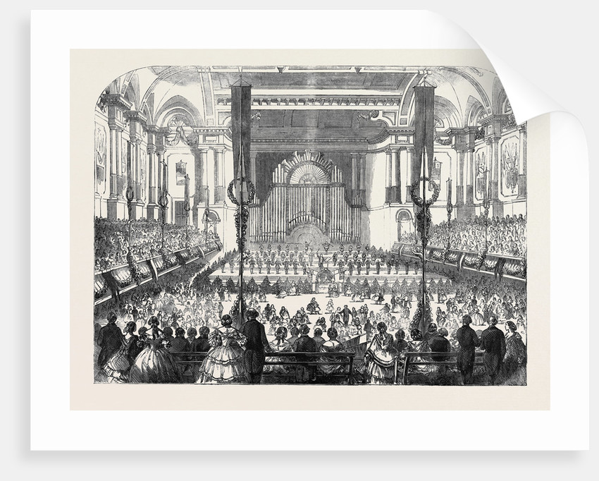 Dr. Mark's Juvenile Ball in the Free-Trade Hall Manchester by Anonymous