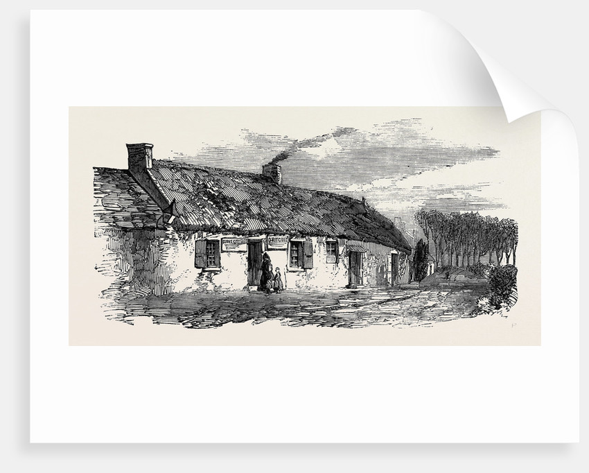 Burns' Cottage at Ayr the Burns Centenary by Anonymous