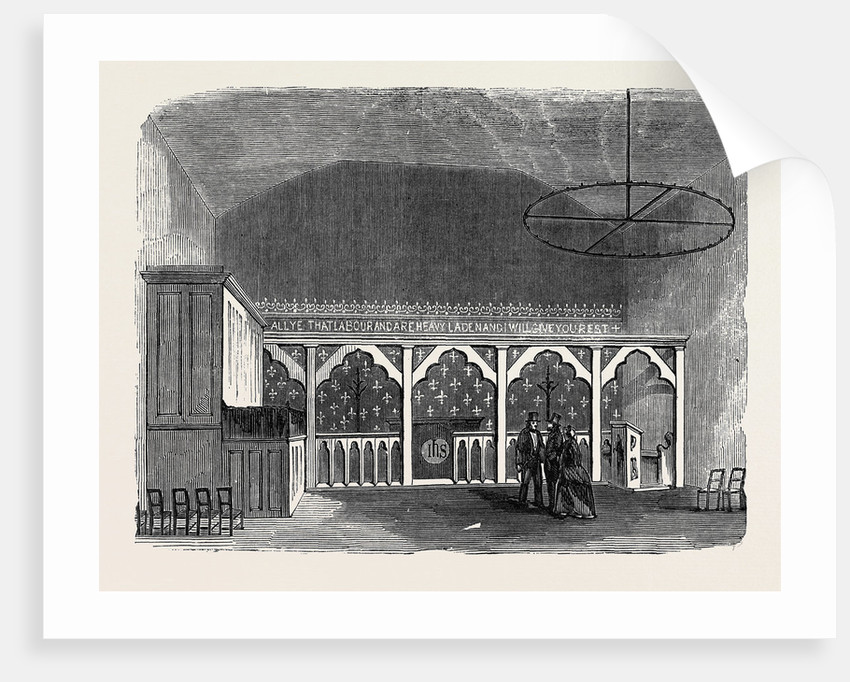 Chapel in Horseshoe Court Clare Market by Anonymous