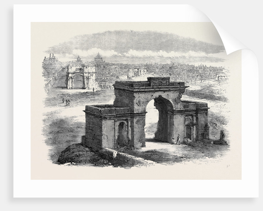 The Bailey Guard Gate Lucknow by Anonymous
