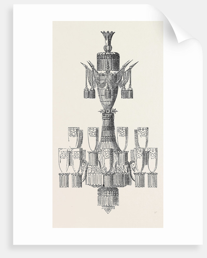 Chandelier for India by Anonymous