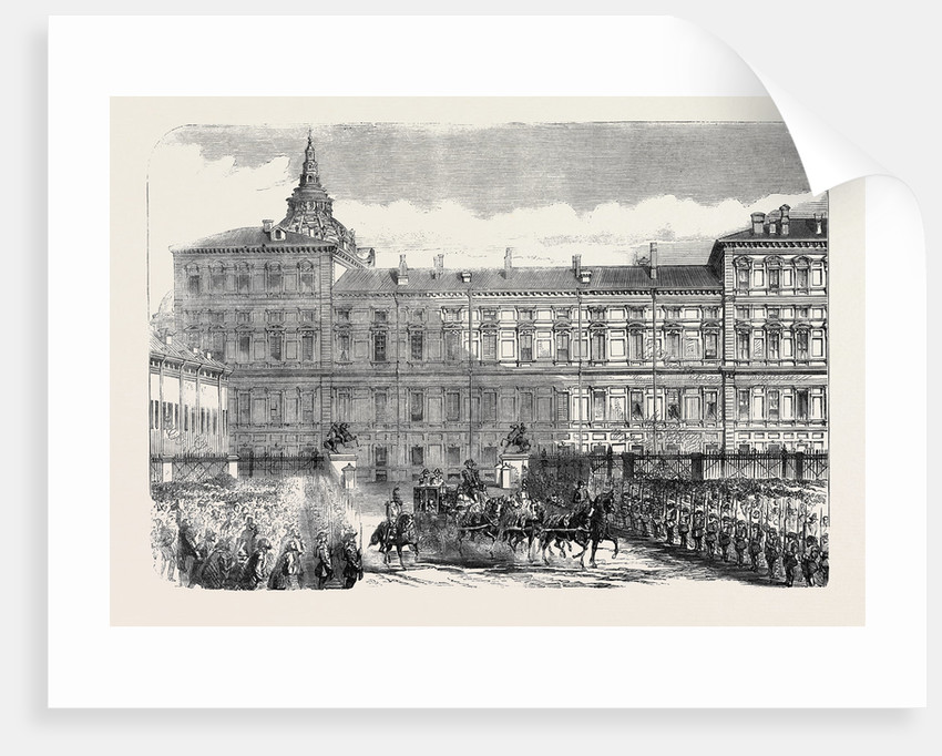 The King's Palace Turin by Anonymous