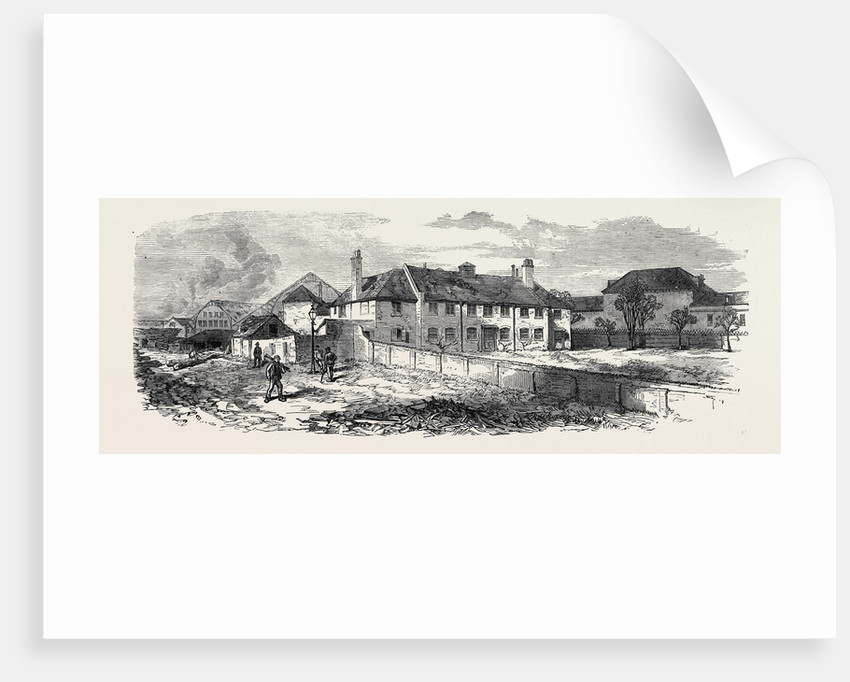 Pension Office Deptford Dockyard 1869 by Anonymous