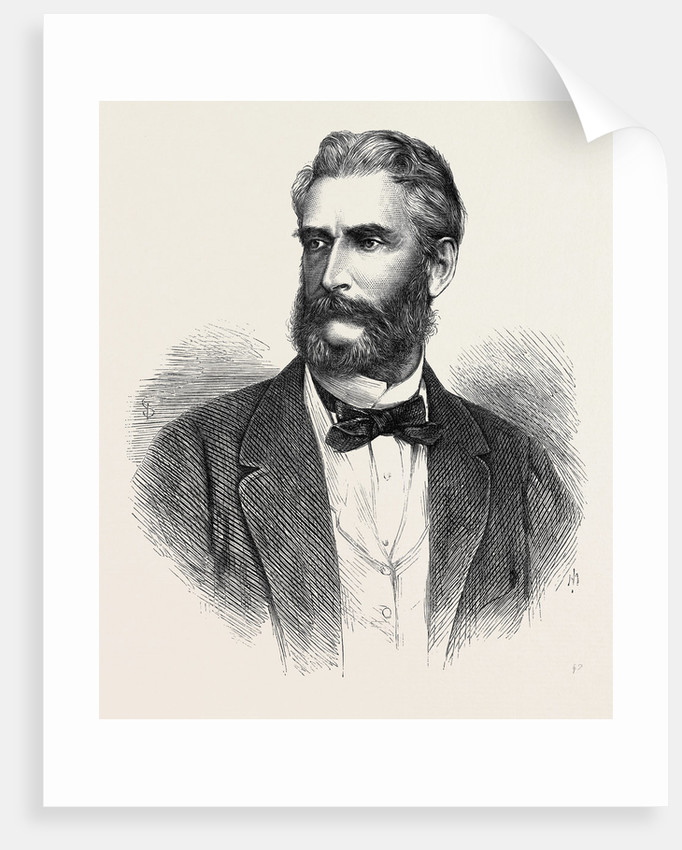 The Hon. J.R. Motley the New Minister of the United States in Great Britain 1869 by Anonymous
