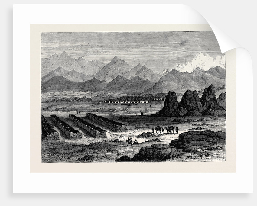 The War in Afghanistan: General Gough's Camp at Gundamuk 1880 by Anonymous