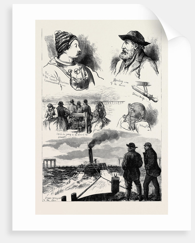 The Tay Bridge Disaster 1880 by Anonymous