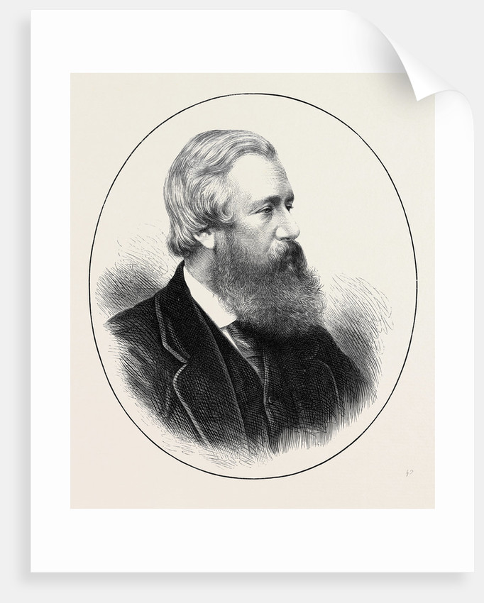 The Late Mr. Shirley Brooks 1874 by Anonymous