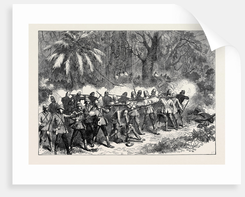 The Ashantee War: The 42nd Highlanders in the Front 1874 by Anonymous