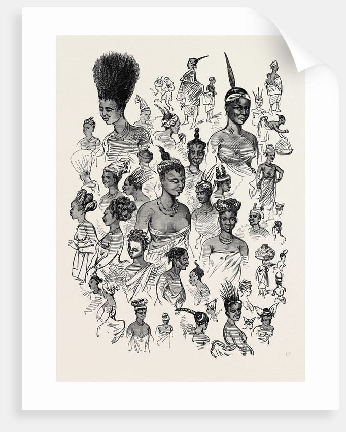 The Ashantee War: Female Fashions at Cape Coast Castle 1874 by Anonymous