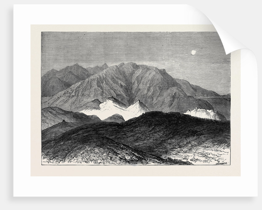 The Afghan War: The First Shell from Fort Ali Musjid 1879 by Anonymous