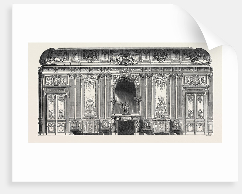 The Paris International Exhibition: Design for Wall Decorations France 1867 by Anonymous