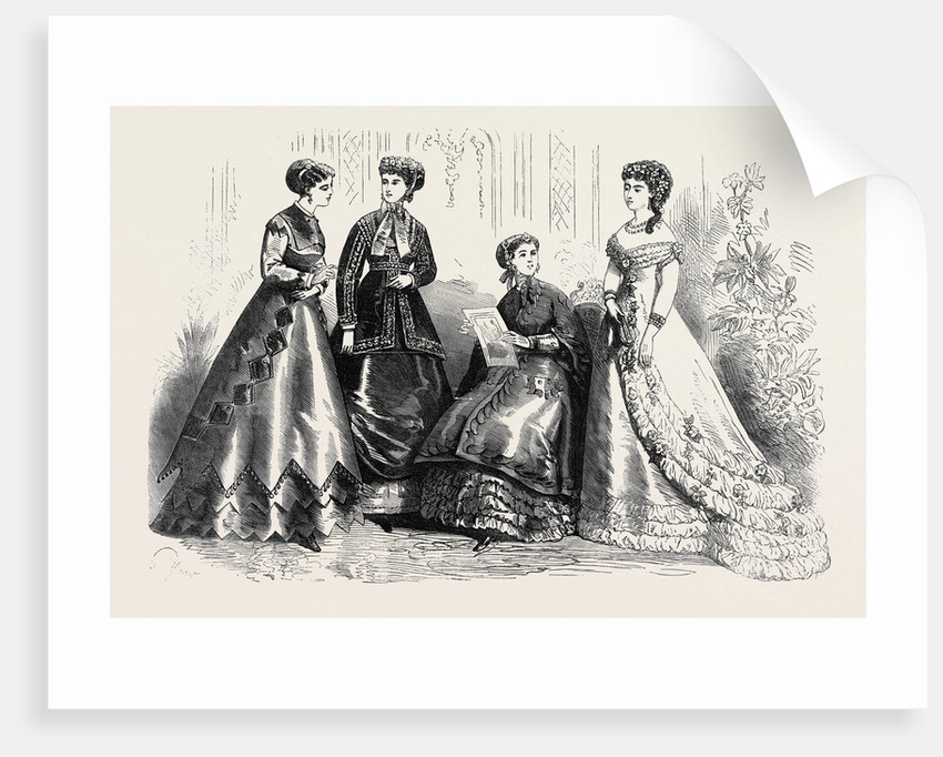 Paris Fashions for August France 1867 by Anonymous