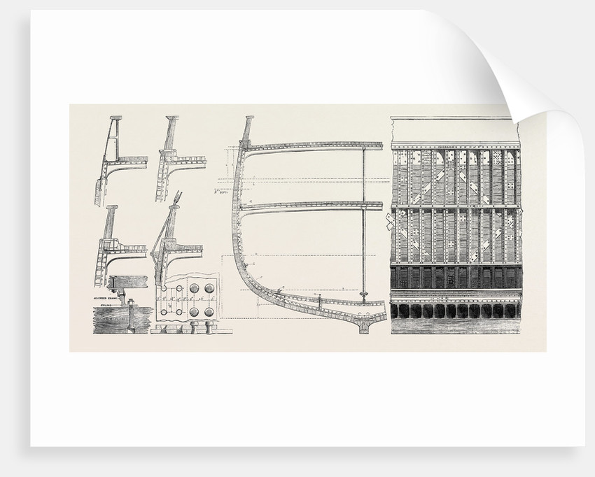 Designs for a System of Composite Shipbuilding Recommended by Lloyd's UK 1867 by Anonymous