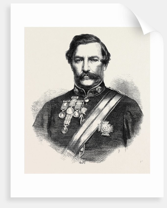General Sir Robert Napier K.C.B. And G.C.S.I Commander of the Abyssinian Expedition 1867 by Anonymous