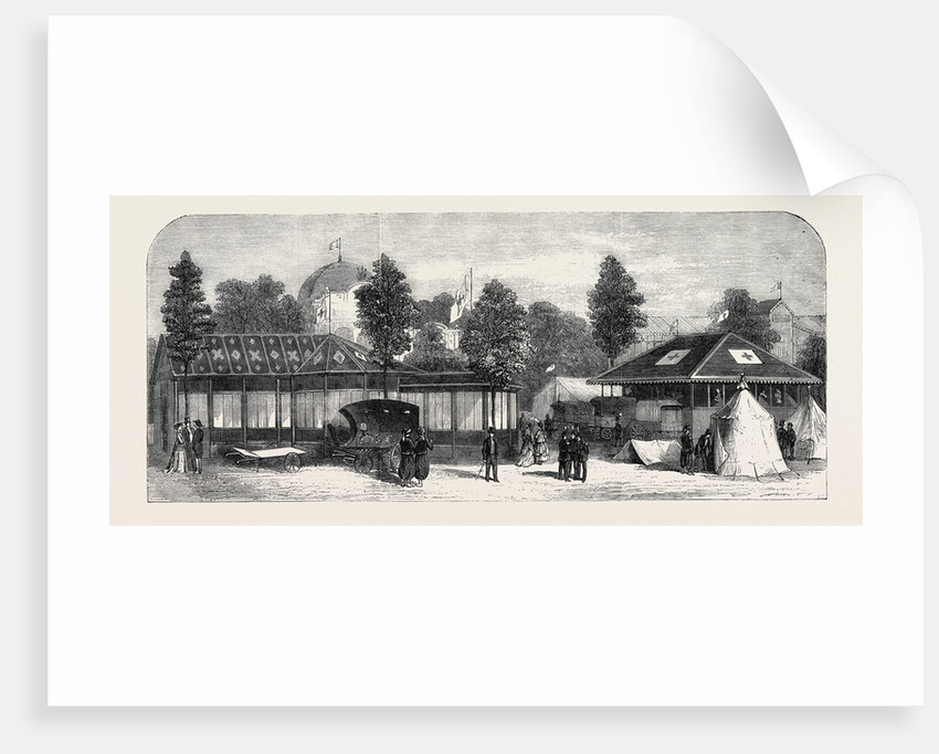 The Paris International Exhibition: International Exhibition of the Societies for Affording Relief to Wounded Soldiers France 1867 by Anonymous