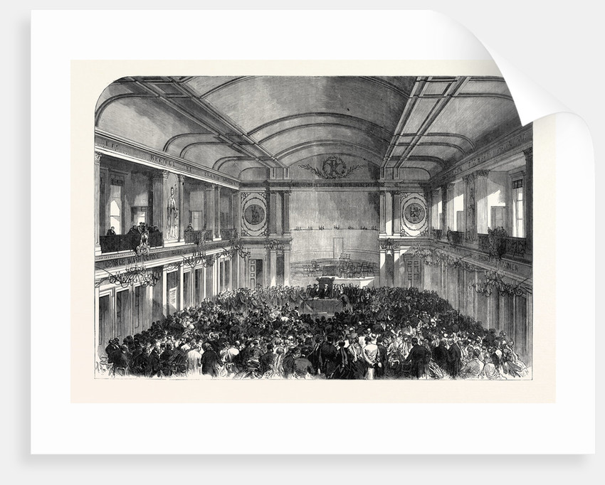 Conference of the Evangelical Alliance at Amsterdam the Netherlands 1867 by Anonymous