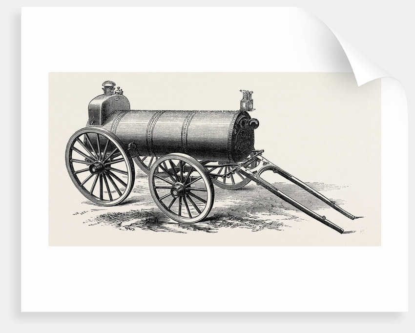 The Paris International Exhibition: Perkins's Military Portable Steam Oven Heated by Internal Hot Water Tubes by Anonymous